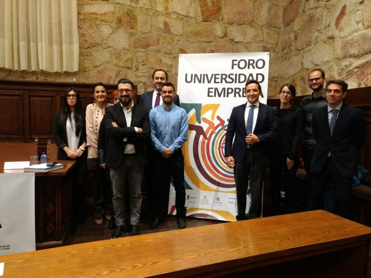 Foro Universidad-Empresa CyL - Salamanca 30-10-2017